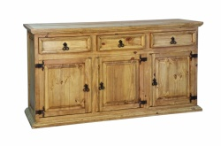 Traditional 3 Door 3 Drawer Sideboard